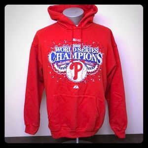 Majestic Phillies 2008 World Series Champs hoodie